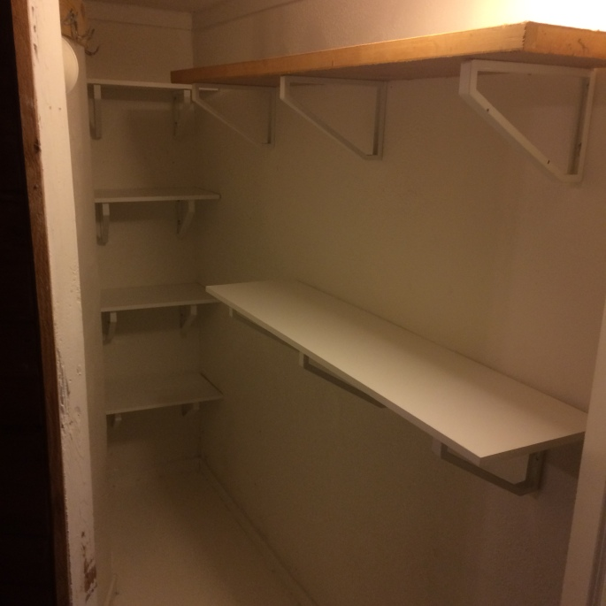 Handyman Rob Brown delivers handy services for shelf installation in Vancouver, BC. He carefully measures, cuts and installs shelves for closets and garages.
