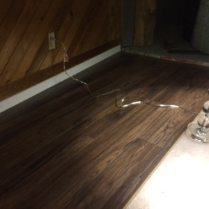 Rob installs laminate floors as part of house renovation and maintenance in greater Vancouver.